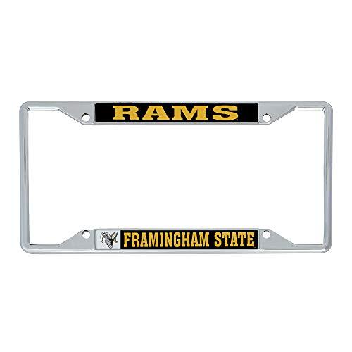 Desert Cactus Framingham State University FSU Green College NCAA Metal License Plate Frame for Front or Back of Car Officially Licensed (Alumni)