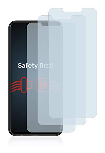 Savvies Panzerglas kompatibel mit Huawei Nova 3i (3 Stück) - Echt-Glas, 9H Härte, Anti-Fingerprint - 2
