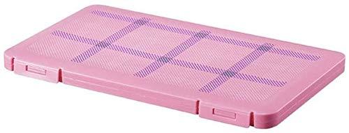 Contenitore per mascherine antipolvere e cosmetici Colore: rosa.