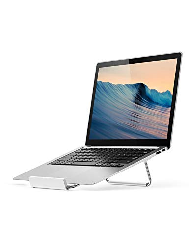 UGREEN Laptop Ständer Aluminium Laptop Halterung Tisch Laptopständer Verstellbar Notebook Halter Ständer Laptop Stand kompatibel mit 11 bis 16 Zoll Laptops wie MacBook Air, MacBook Pro, X1 Carbon