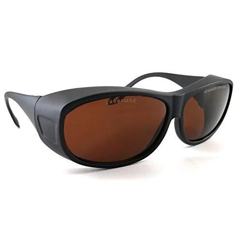 Laserland T3G Laserschutzbrille 190-550nm 800-1100nm 405nm 450nm Grün-Blau- Lichtschutz Nd:yag 190-550nm 800-1100nm Infrarot Tatooentfernung Faserlaser 1070nm 1080nm