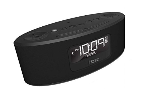 iHome iBT31GC Bluetooth Stereo FM Clock Radio and Speakerphone with USB Charging