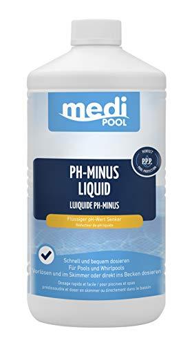 pH Senker, pH Minus Liquid Flüssig 1 L mediPOOL