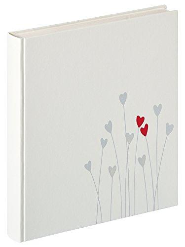 Walther Design UH-202 Album da incollare per Nozze Bleeding Heart, Altro, Bianco, 28 x 4.5 x 31 cm