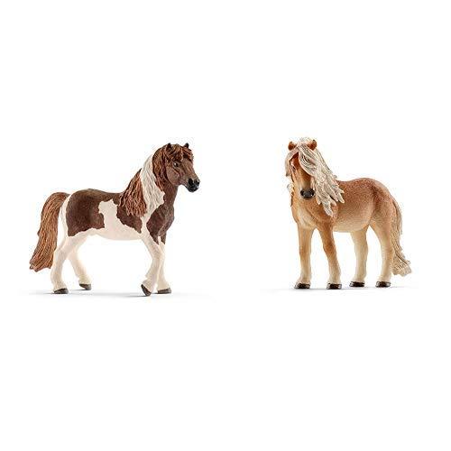 Schleich 13815 - Island Pony Hengst & 13790 -...