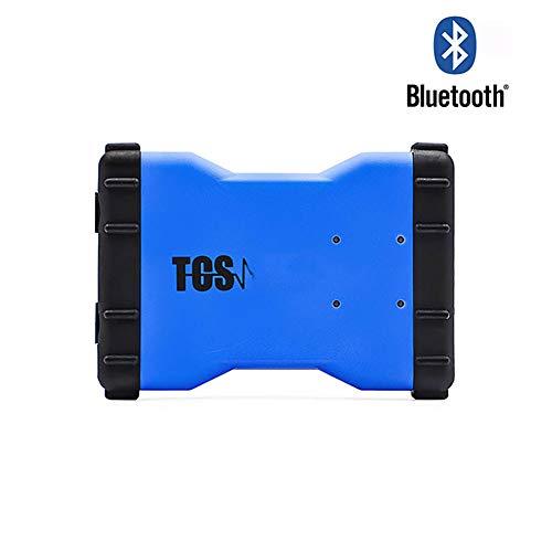WYYHAA OBD2 Diagnosegerät Bluetooth, VCI-Selbstdiagnosewerkzeug Auto-Scanner Mit Keygen, TCS CDP Pro Plus Für Autos/Nutzfahrzeuge New VCI,B