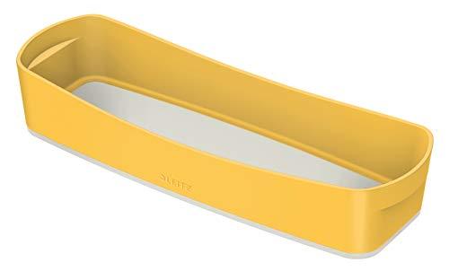 Leitz MyBox Aufbewahrungsschale, Warmes Gelb, Cosy-Serie, 52650019