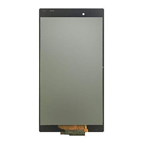 un known LCD Touch Screen for Display LCD Sony Xperia Z Ultra XL39h XL39 C6833 Digitizer Assembly di Vetro del Pannello del sensore Accessori Elettronici (Color : White with Frame)