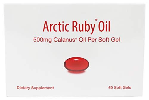Arctic Ruby Oil 60 Softgels (500mg Calanus Oil Per softgel)