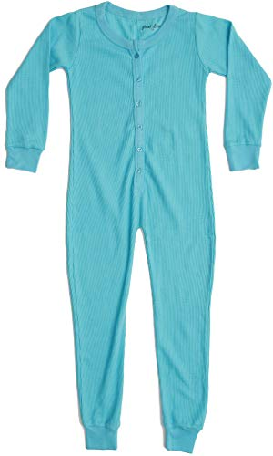 Just Love Thermal Union Suits for Girls 96363-BLU-10-12 Blue
