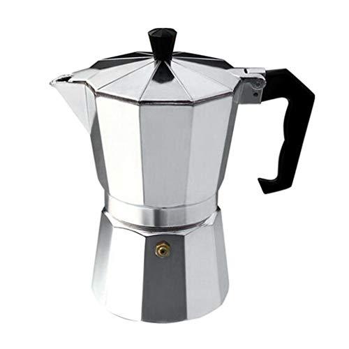 joyMerit Stovetop Espresso Maker, Italian Espresso Coffee Maker, Stainless Steel Espresso Maker Machine For Full Bodied Coffee, Espresso Pot Moka Pot 9-Cup
