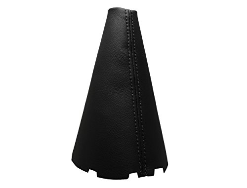 Para TOYOTACOROLLA Modelos 2003-2008 Funda para Palanca de Cambio 100% Piel Color Negro