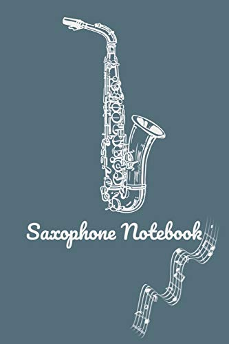 Saxophone Practice & Assignment Notebook: Saxophone Lesson Tracking Charts | Record Notes and Practice Log Book | 100 pages