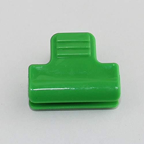 Wyi 48 abrazaderas de plástico para invernadero para cubrir filas, para túnel, para sombreado, para estacas de 11 mm