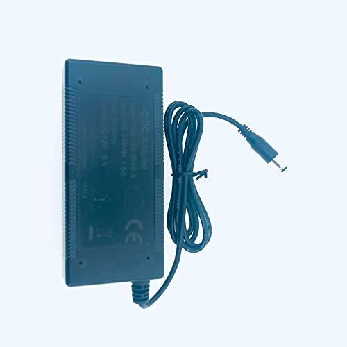 Equipos de fibra óptica Lysee - Adaptador de corriente Entrada 100~250AC Salida DC 12V 5A ForMedia Converter Convertidor de medios...