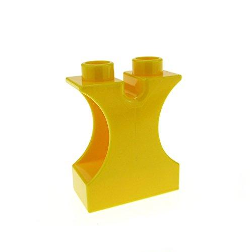 1 x Lego Duplo Zement Mischer Dreh Kipp Auflage Stein gelb Baustelle für Set 4988 42234