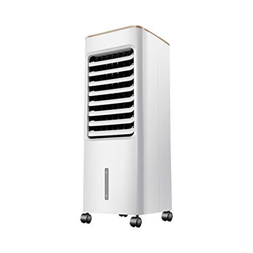 LIANGJING Ventilador de refrigeración casero con Caja de Cristal de Hielo Enfriador de Aire de 60 °