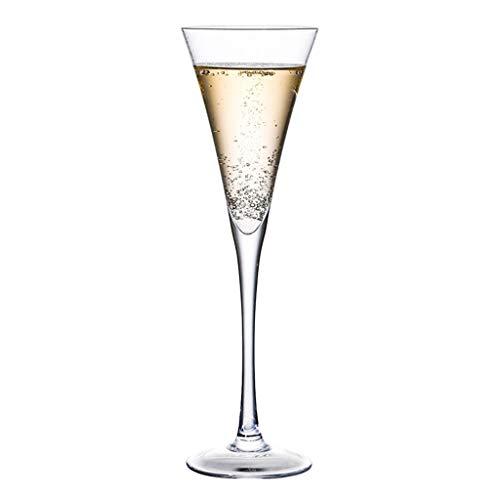 Verres Margarita Cup Martini Cup Verre À Cocktail Verre Personnalité Bar Coupe Set Champagne (Color : Clear, Size : L)