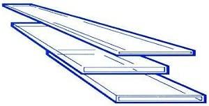 Borosilicate Capillary Micro Glass Slide 0 10x1 0 mm  100 mm  40 VL...