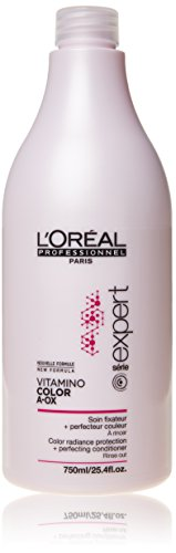 New Serie Expert by L'Oreal Professional Vitamino Colour A.Ox Rinse Out Conditioner 750ml with Pump