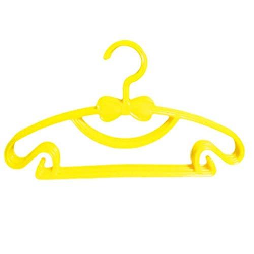 HANGER BOYA 4 PCs/Lot Noeud-Noeud Cintre Enfants Enfants Enfant Bébé Vêtements Manteau en Plastique Cintres Crochet Ménage Organisateur