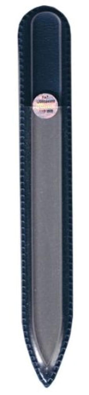 フィットネスコーンウォール水陸両用ブラジェク ガラス爪やすり 140mm 片面タイプ(プレーン)