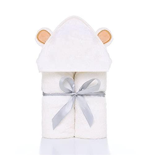 LUBINGT Toallas para cuarto de baño Premium Baby Towel Baby Toallita de baño de bambú orgánico toalla de baño extra suave y gruesa toalla con capucha para recién nacidos (color: YJ0001)