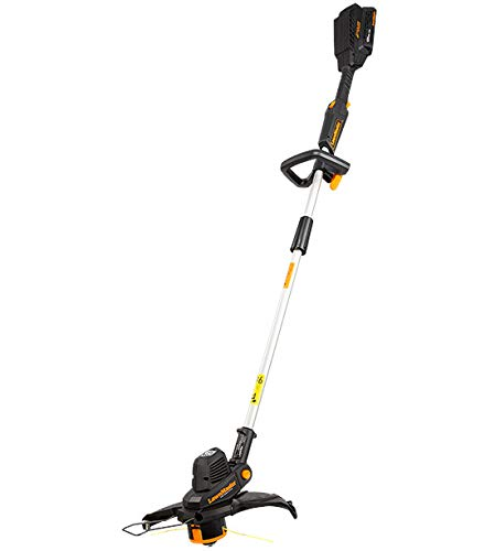 LawnMaster Cordless Grass Strimmer 60V MAX with 2.0Ah Battery & Fast...