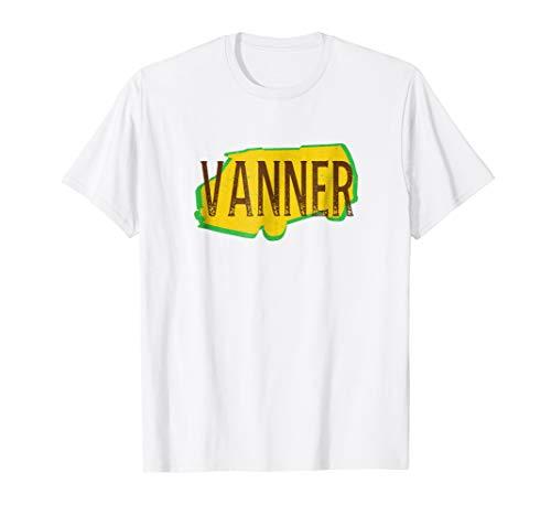 Vanner T-Shirt - Vannin' Vanning Van Culture Tee Shirt