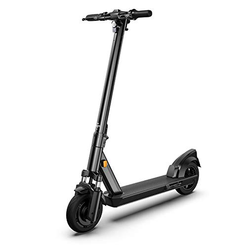 OKAI Electric Scooter ES200 For Adults and Kids 350W Kick E Scooter With Powerful Long Life Scooter Battery Motor Black