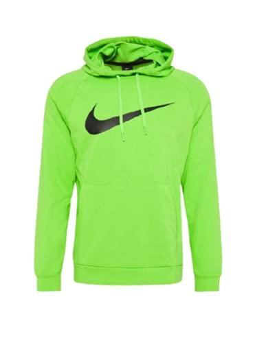 Nike felpa con cappuccio verde da uomo - s