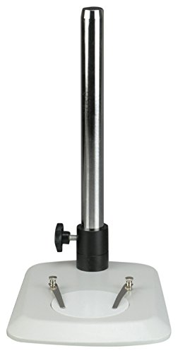 AmScope TS110L-FR Microscope Table Stand with Butterfly Base, Long Post and Focusing Rack