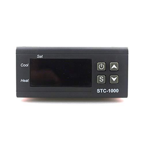 YXDS 12V STC-1000 termostato Digital incubadora Controlador de Temperatura Dos Salidas de relé LED 110V 220V 12V 24V 10A Calor frío