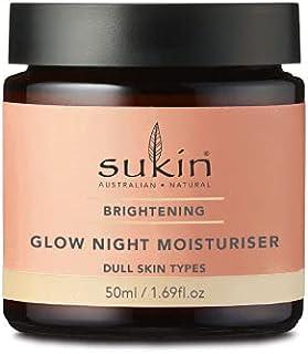 Sukin Sukin Brightening Glow Night Moisturiser 50ml, 50 milliliters