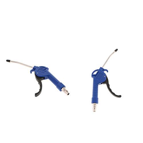 Amagogo De Soplado De Aire Azul De 2 Piezas, De Soplador De Boquilla De Aire De Alto Flujo Seenlast