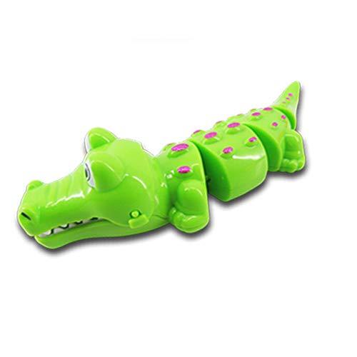 ghfashion Cartoon Krokodil Aufziehbares Uhrwerk Spielzeug Kinder Geschenk, plastik, Random Color