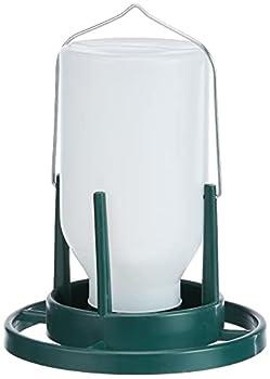 TRIXIE Distributeur de nourriture de volière, 1.000 ml/20 cm - garde la nourriture propre et sèche