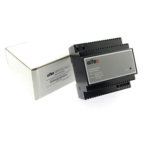 elfex Hutschienen-Netzteil 100W, 24V DC (einstellbar 24V-28V), EFX100-GP24V
