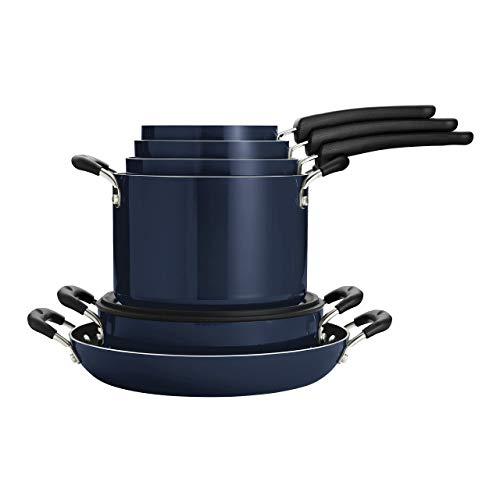Tramontina Nesting 11 Pc Nonstick Cookware Set - Naval - 80156/067DS