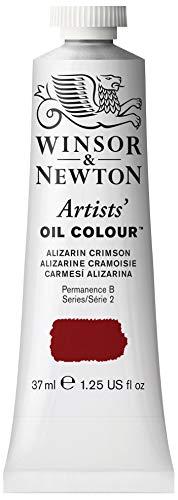 Winsor & Newton Artists' Oil Color Paint, 37-ml Tube, Alizarin Crimson