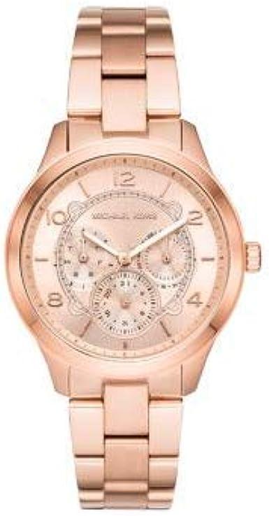 Michael Kors Reloj Analogico para Mujer de Cuarzo con Correa en Acero Inoxidable MK6589