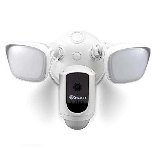 Swann 1080p Gen 2 Floodlight IP WiFi Cámara con 30 Metros de Color visión Nocturna