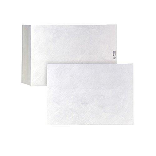 Tyvek 00011784 Versandtasche B4 haftklebend, 100 Stück, 250 x 353 mm, weiß