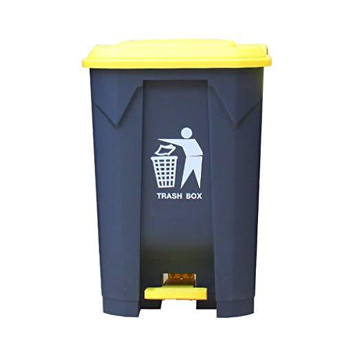 Happy Time Indoor vuilnisbak Buiten vuilnisbak Plastic vuilnisbak Sanitation Street Community Square Park vuilnisbak, 50L, 80L, 100L,b