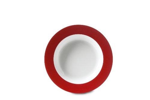 Rosti Mepal - Piatto Fondo in melamina, Colore: Rosso