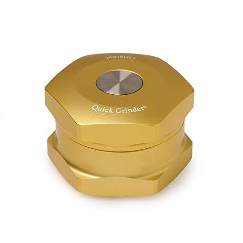 Imagen del producto Grinder cocina aluminio oro–Original Quick Grinder V3