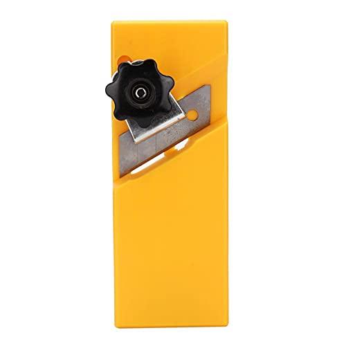 Placas de yeso Pánel de yeso Cepilladora de madera Borde plano Chaflán, Herramienta de archivador de archivos de superficie, Herramienta de mano de carpintero para carpintería(A)