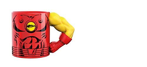 Exquisite Gaming Iron Man Tasse 3D Arm