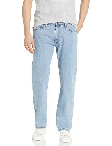 Signature by Levi Strauss & Co. Gold Label Men's Regular Fit Flex Jeans, Light Indigo, 32x32