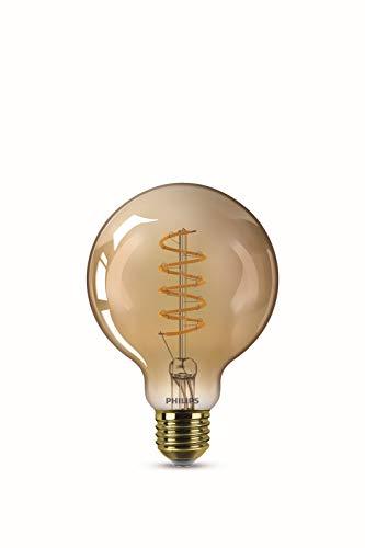 Philips ampoule LED Equivalent 25W, E27, Blanc chaud, Vintage dimmable, Verre